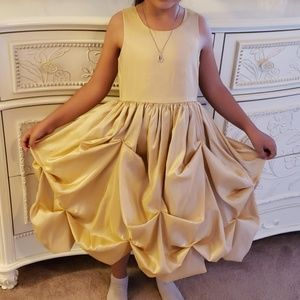 Champagne Girl Formal Party Dress size 4